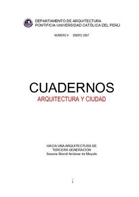 Hacia una arquitectura de tercera generaci n for Hacia una arquitectura